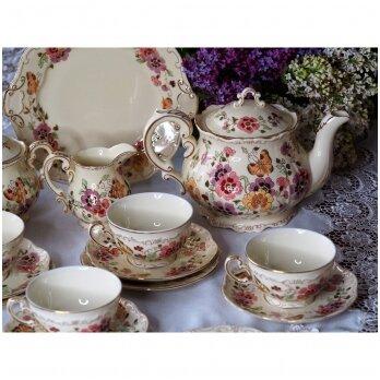 Zsolnay ir Herend vengriškas porcelianas