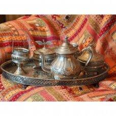 Vintažinis marokietiškas serviravimo komplektas